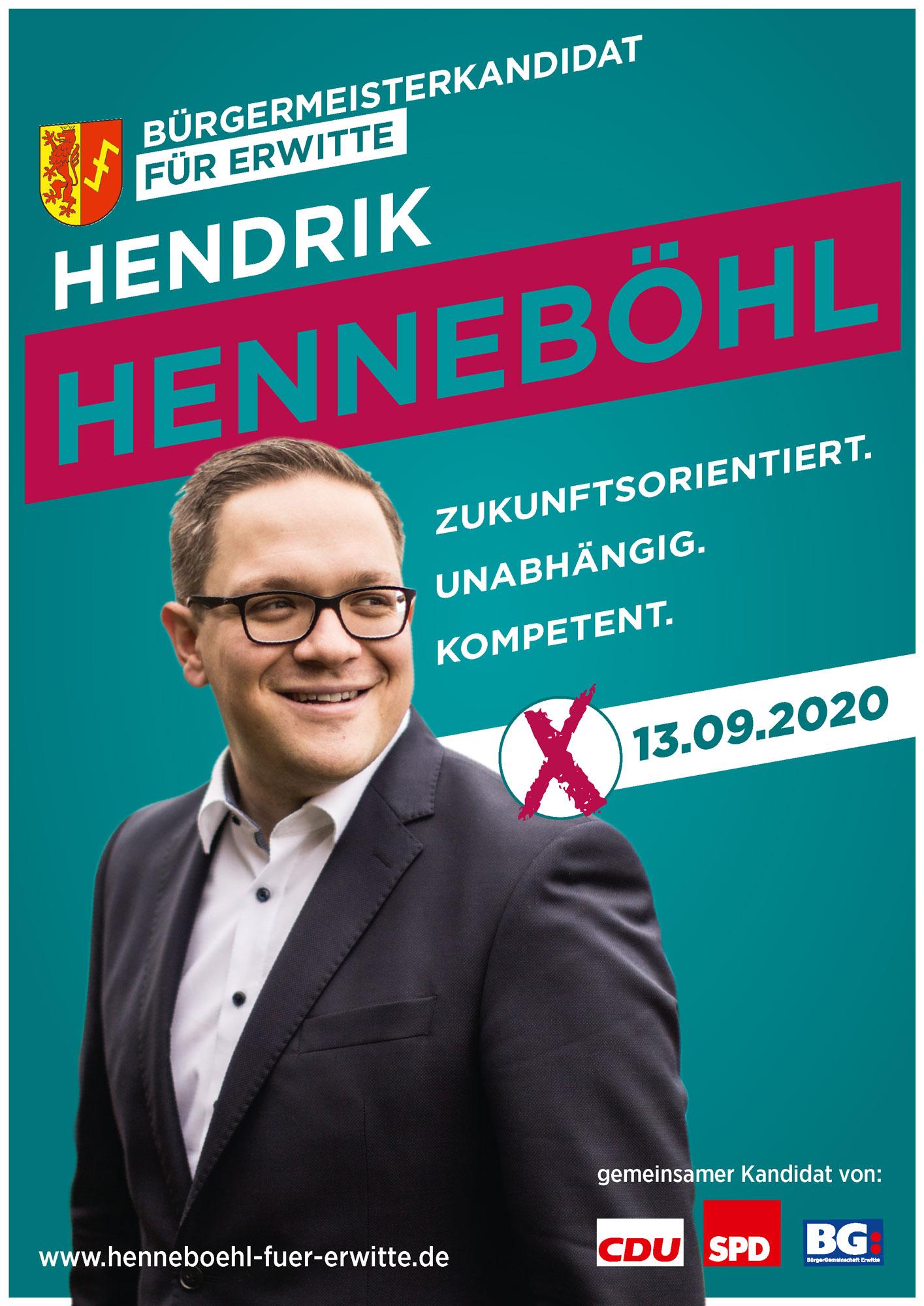 Aktuelles Wahlkampfplakat